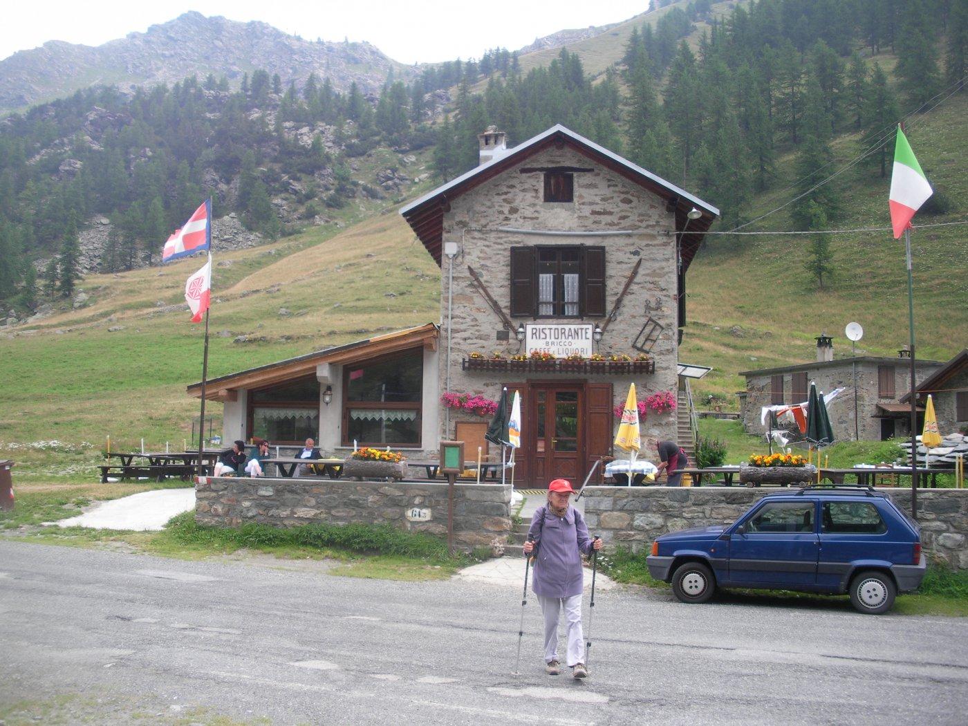 davanti al Bricco..all'alpe Pian della Mussa..