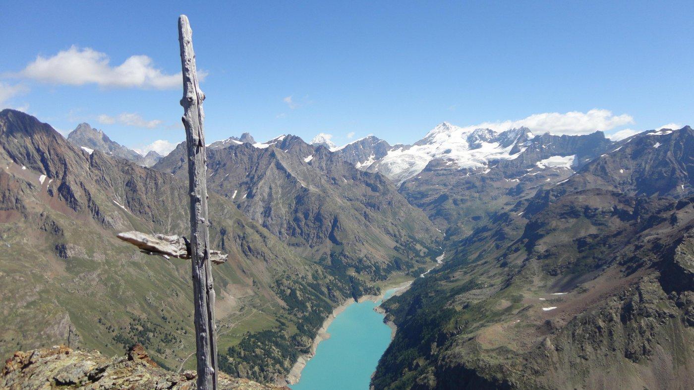 Dzalou (Monte) da La Ferrera per il Colle di Mont Dzalou 2015-07-25