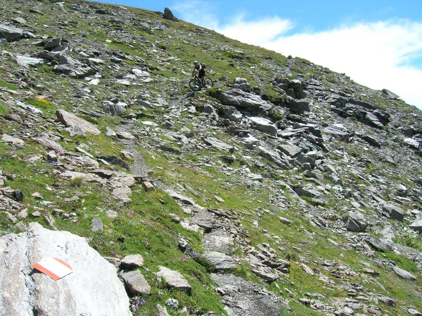 Ruetas (Monte) e Monte Morefreddo da Pragelato per il Colle del Pis 2015-07-25