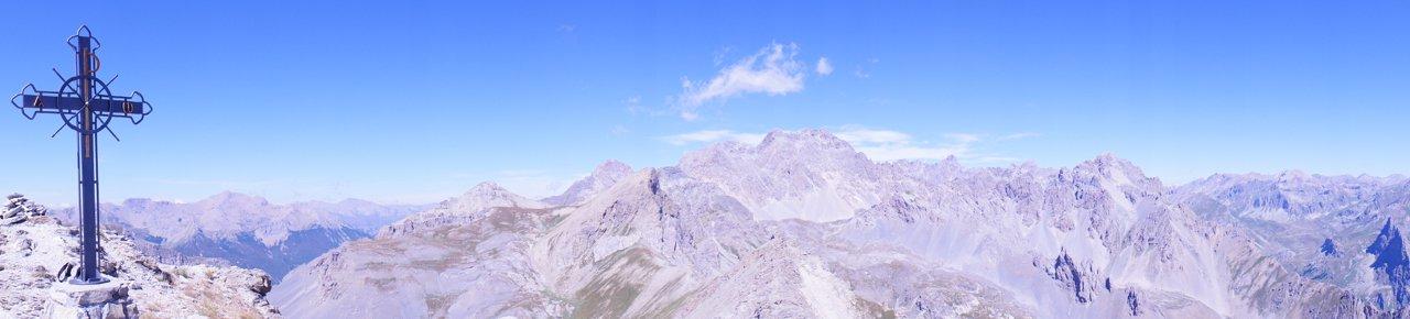 I tremila della val Maira dalla cima