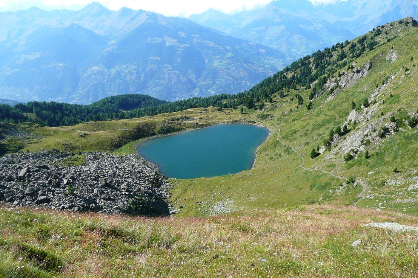 il Lago Chamolè, quasi a casa...