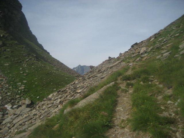 colle Mud, con il Corno bianco sullo sfondo