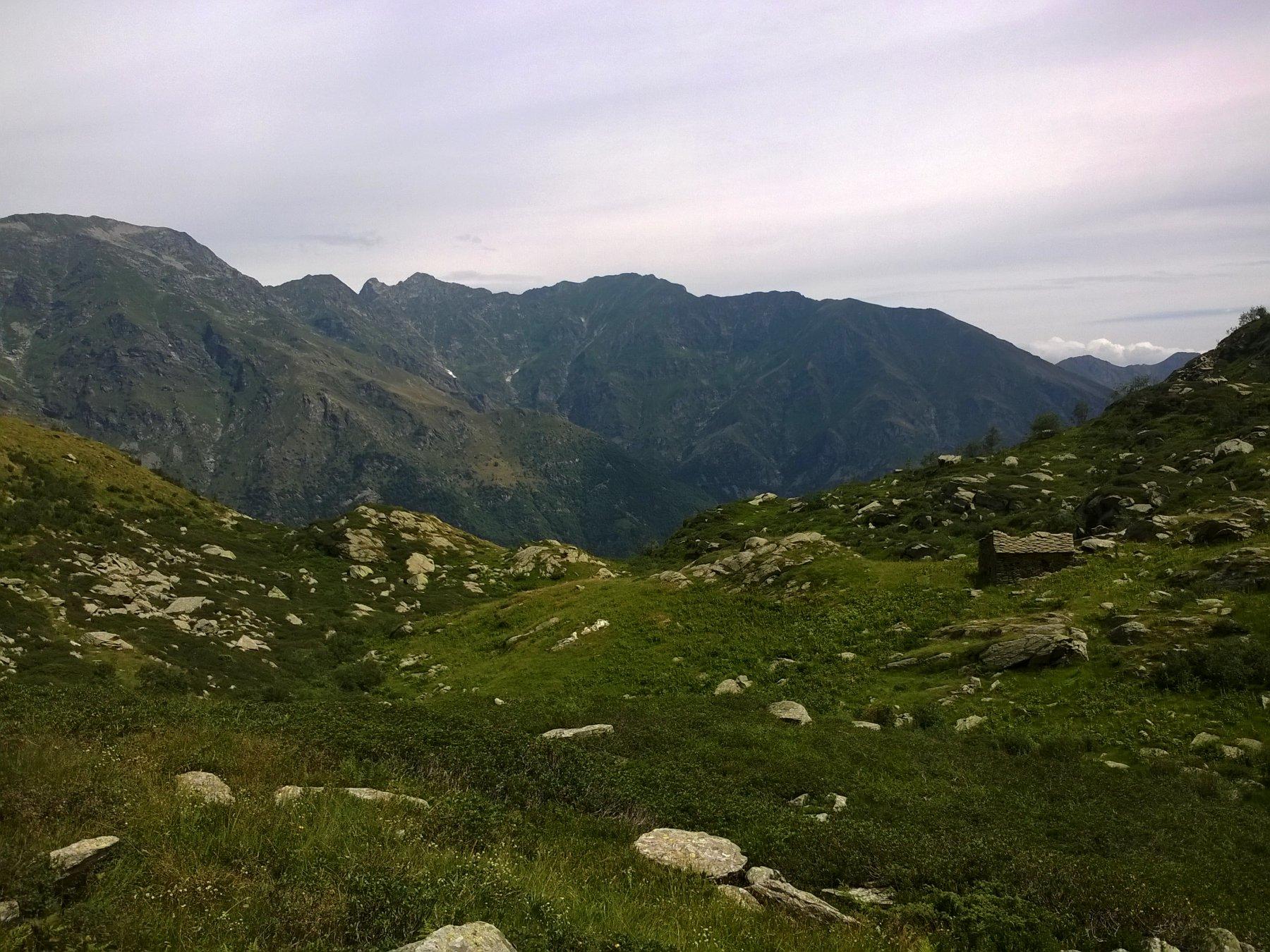 Dall'Alpe Gui verso Fondo