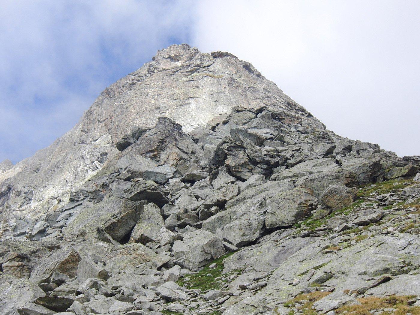 Seconda parte della cresta