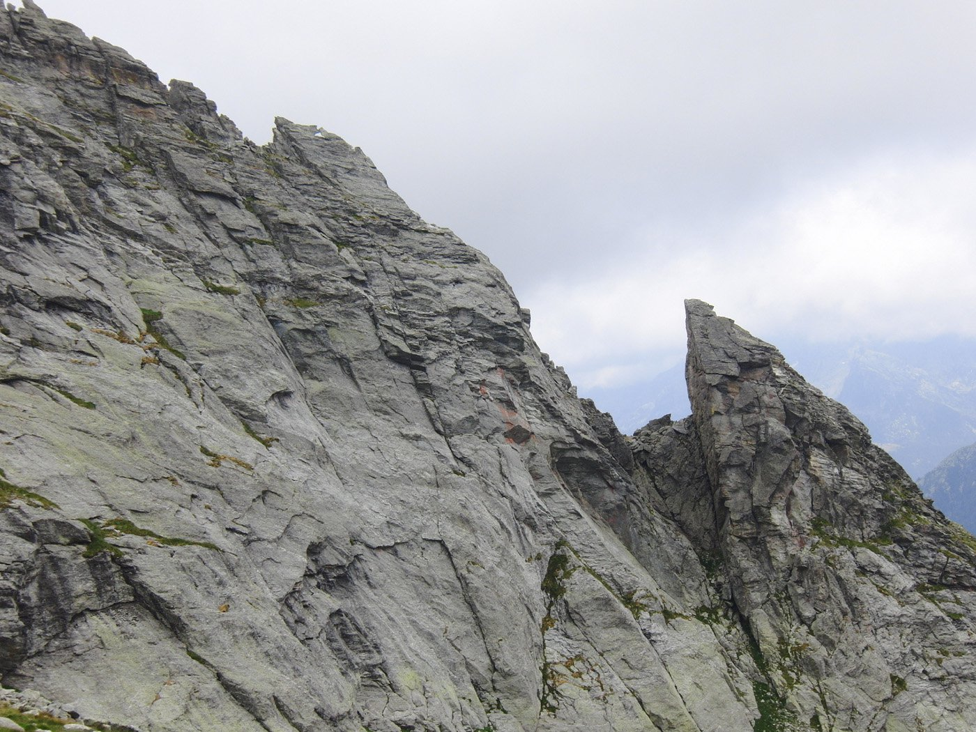 Prima parte della cresta