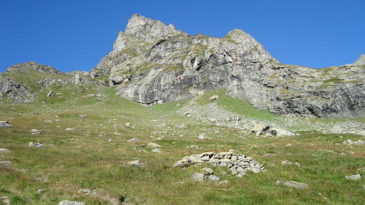rocca Turo vista da pian dei morti