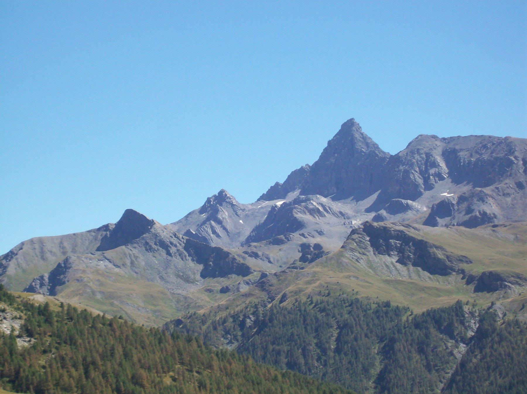 Il Pic de Rochebrune da Col Bousson