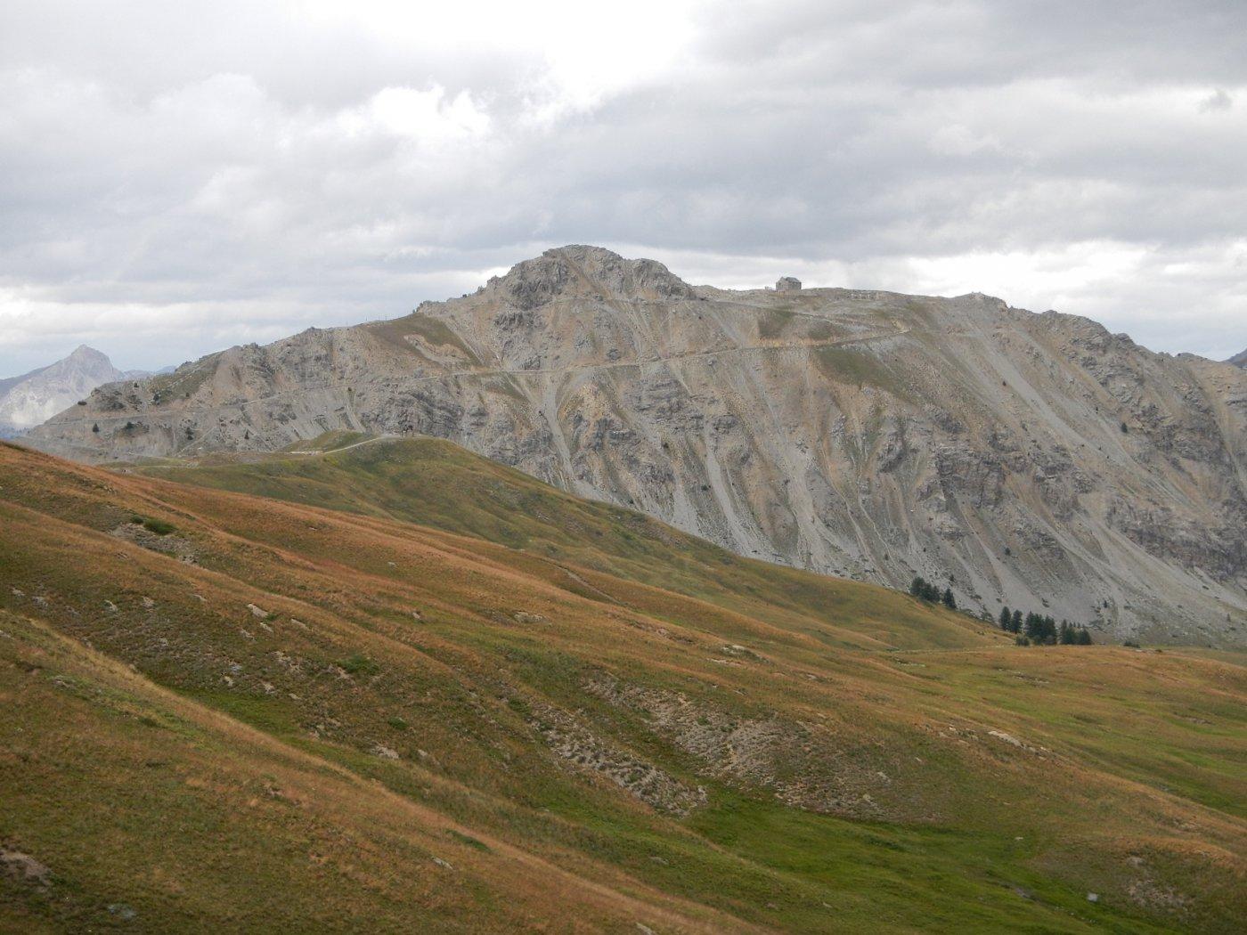 vista sul Monte e il Forte Janus