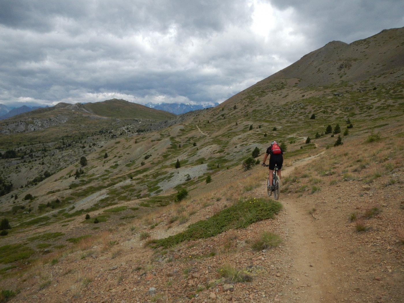 verso il Col du Gondran