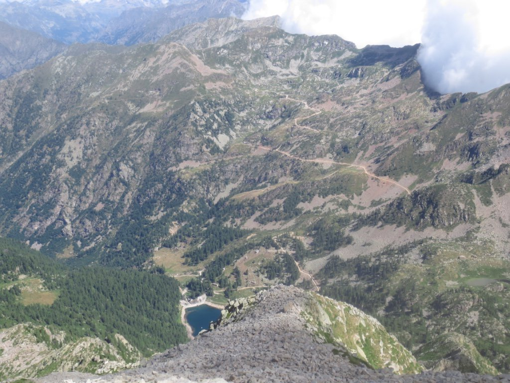 Lago Vargno e la nuova poderale