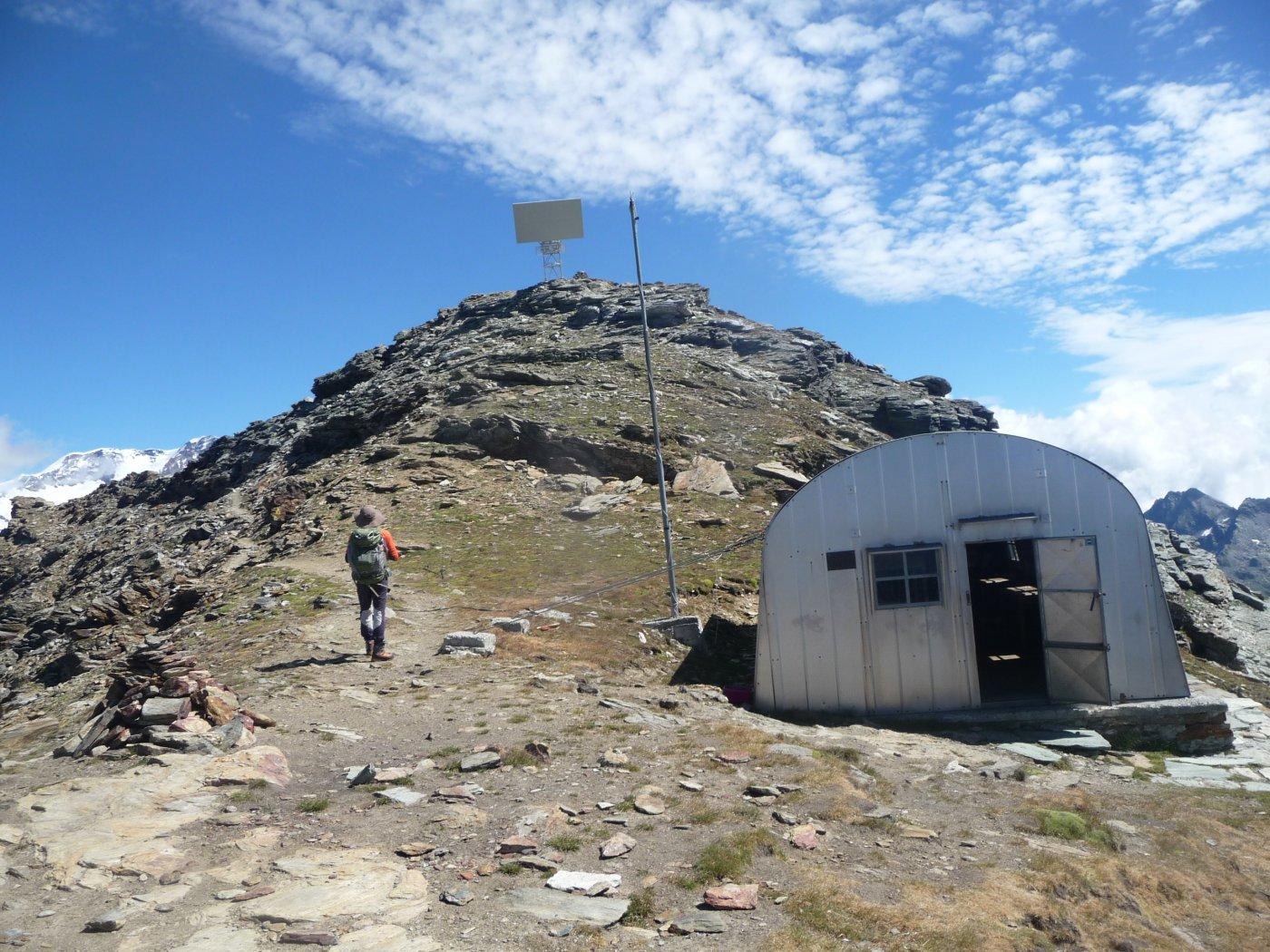 il monte Pinter dal bivacco Lateltin