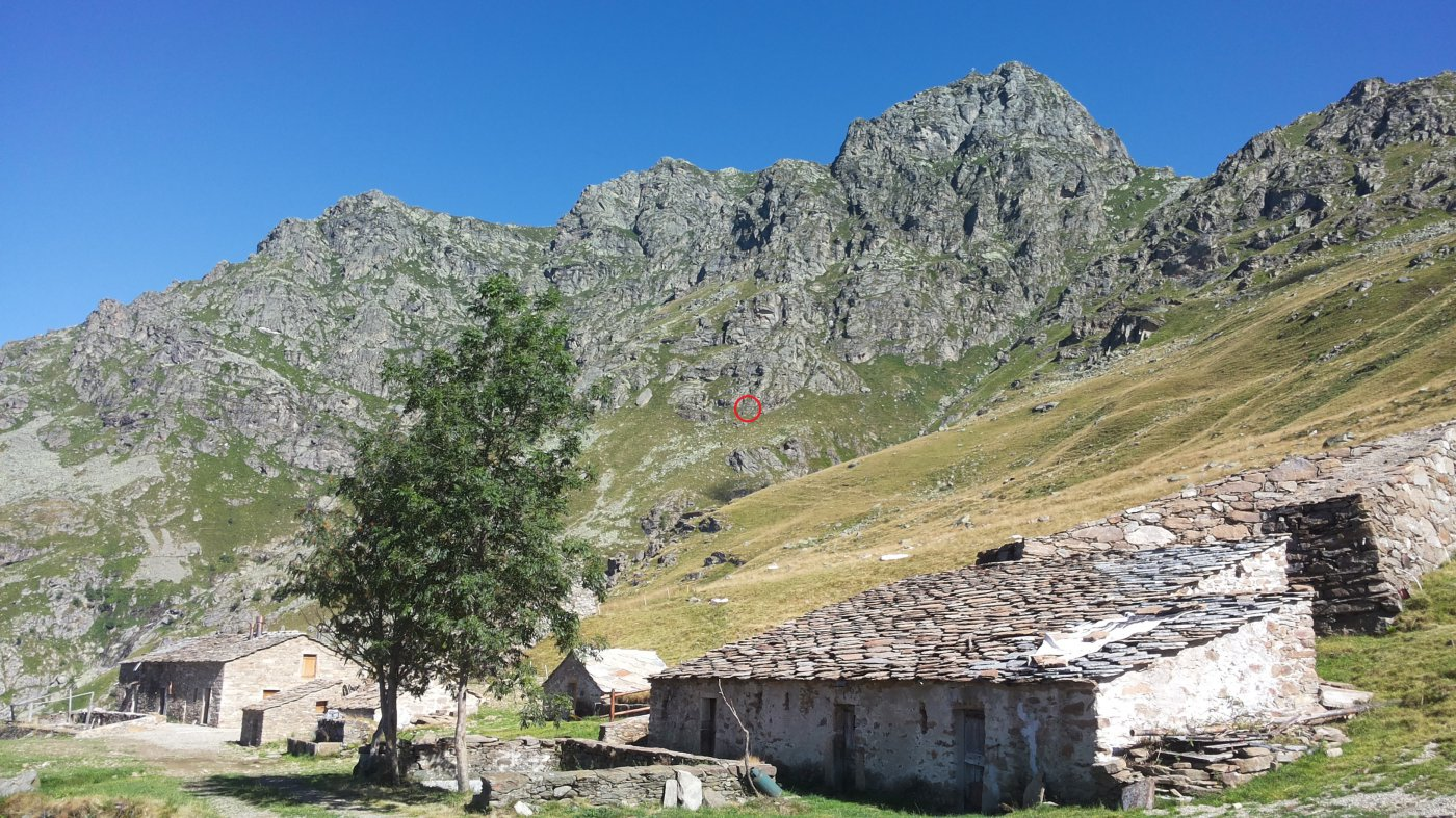 la via dall'Alpe Sette Fontane