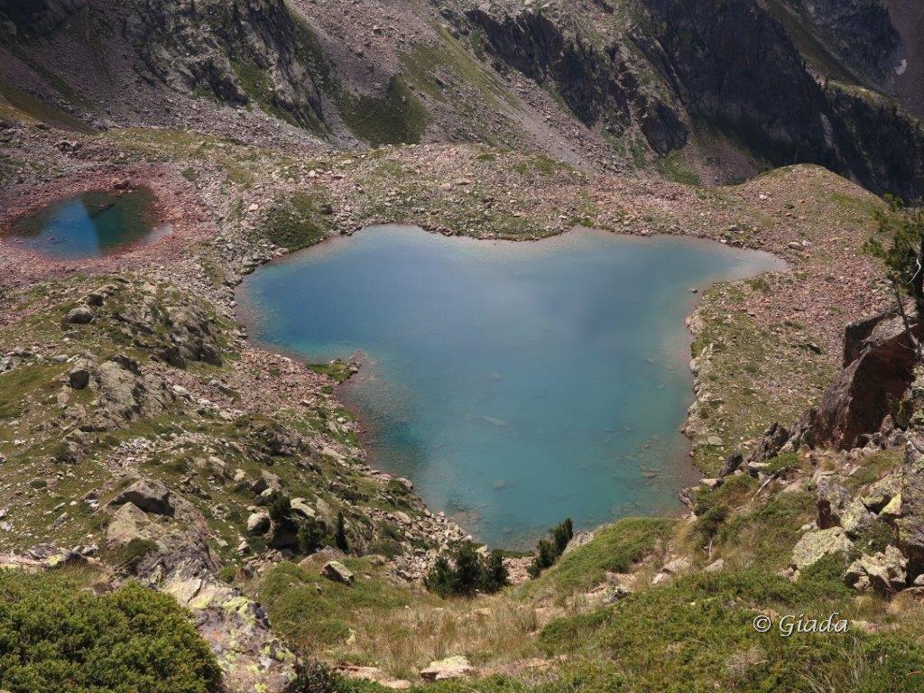 I laghi della Paur visti dalla Rocchetta