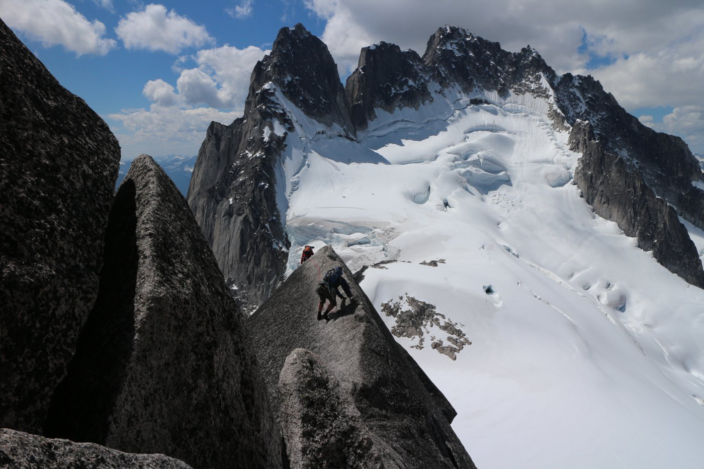 Le howser towers per la via west ridge Pigeon Spire (the best 5.4 in the world)