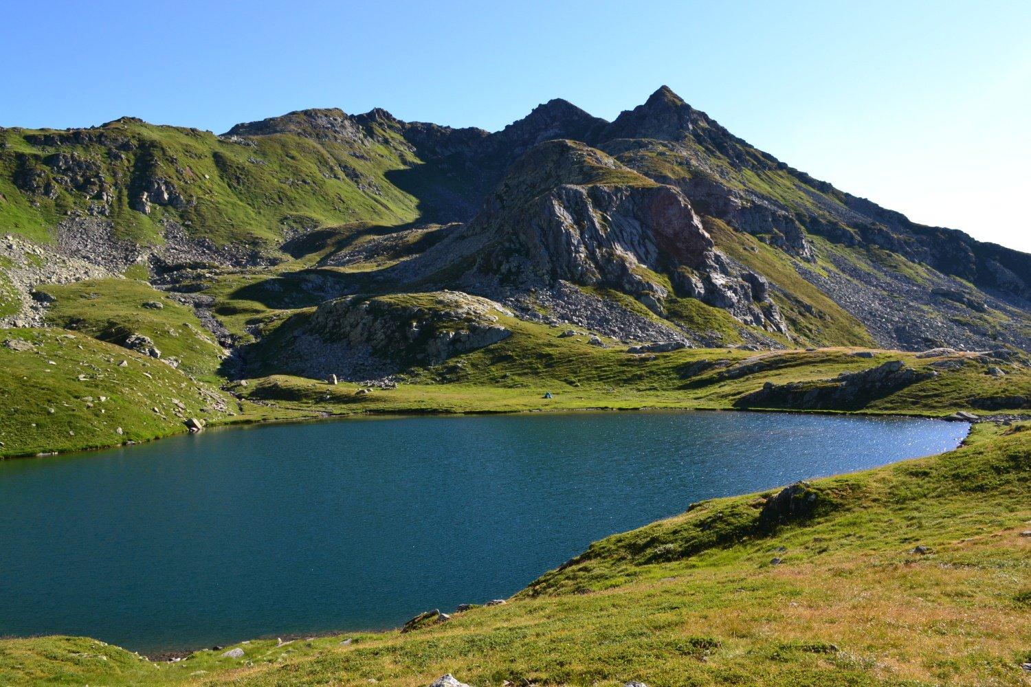 il più grande dei Laghi di Campo (2279 m)