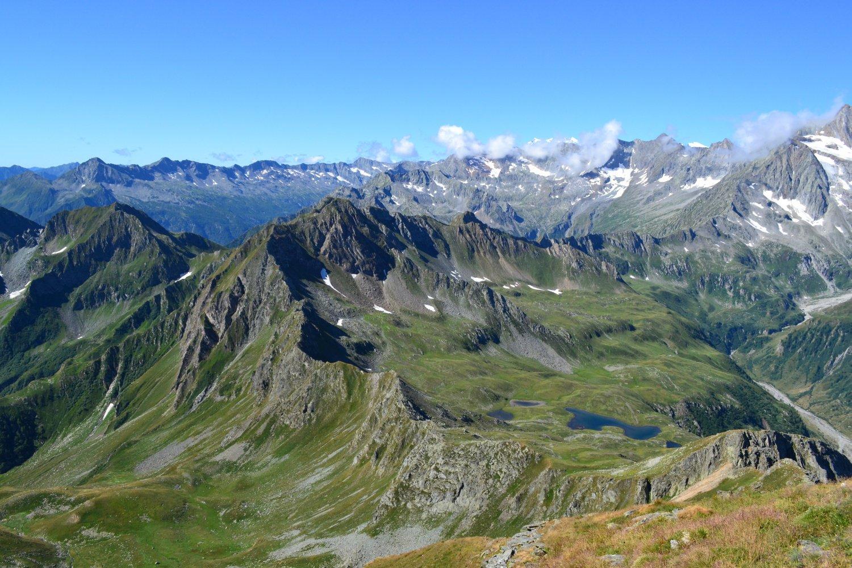 panorama verso la Zwischbergental