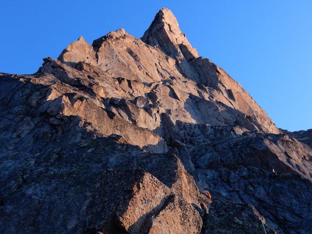 Peuterey (Aiguille Noire de) Cresta Sud 2015-08-03