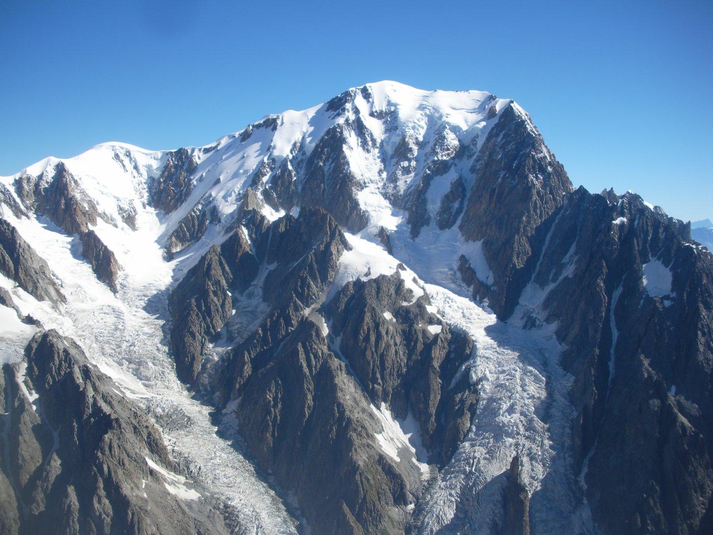 l'Himalaiana parete ovest del Bianco..