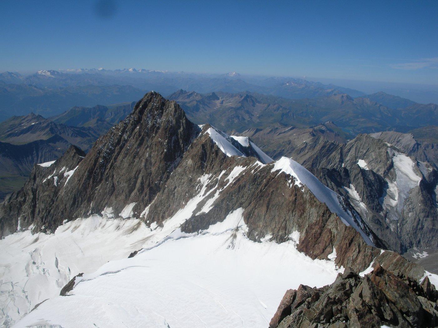 L'Aig.de Glacier dalla Trelatete..