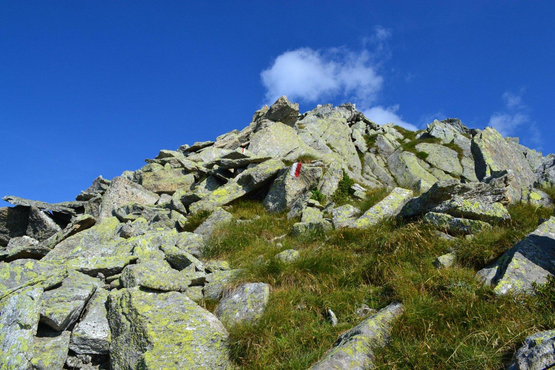 ultimi metri su roccia solida ma scomoda