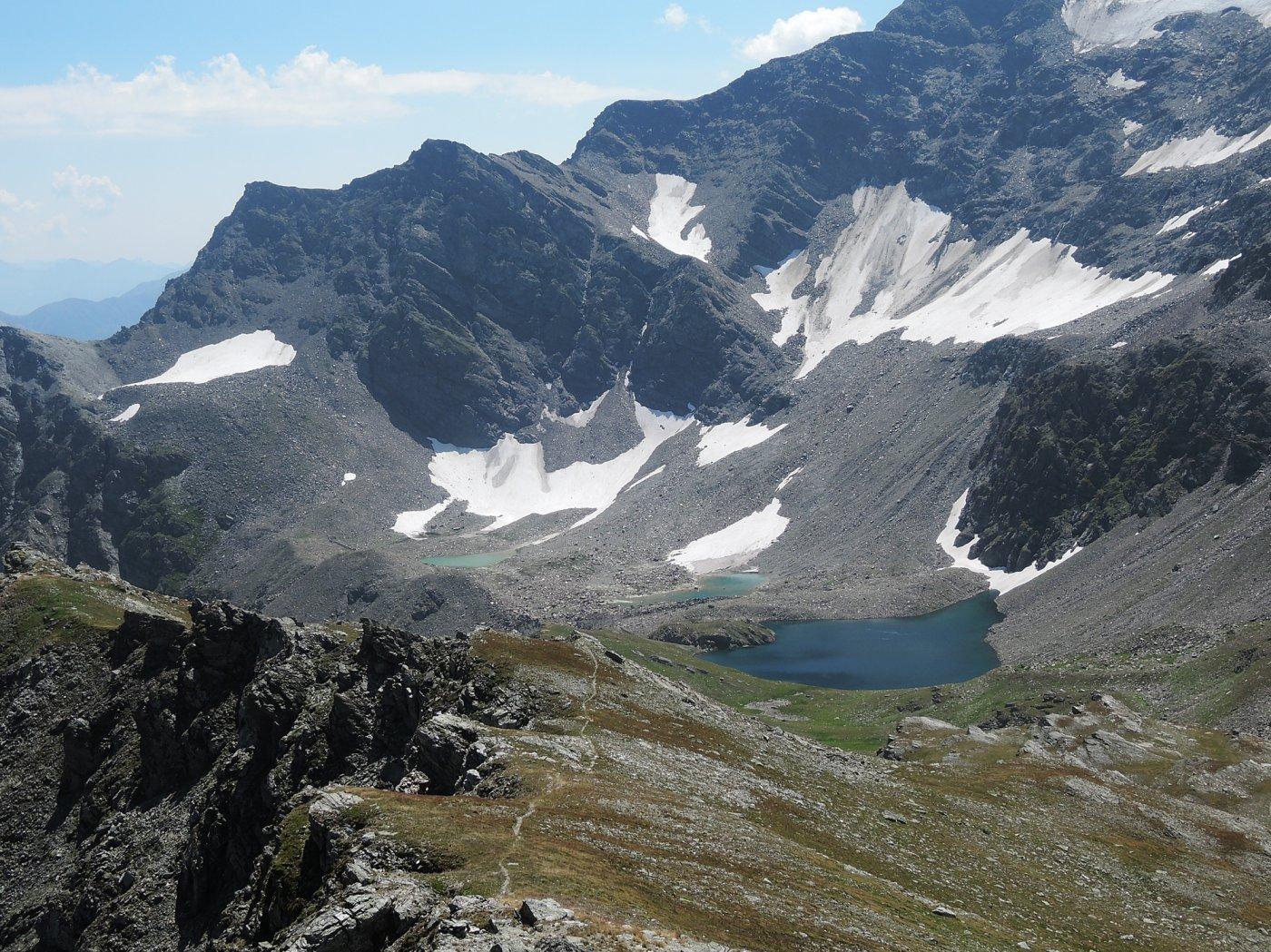 Sirwoltesee visti dalla cresta Sud-Est