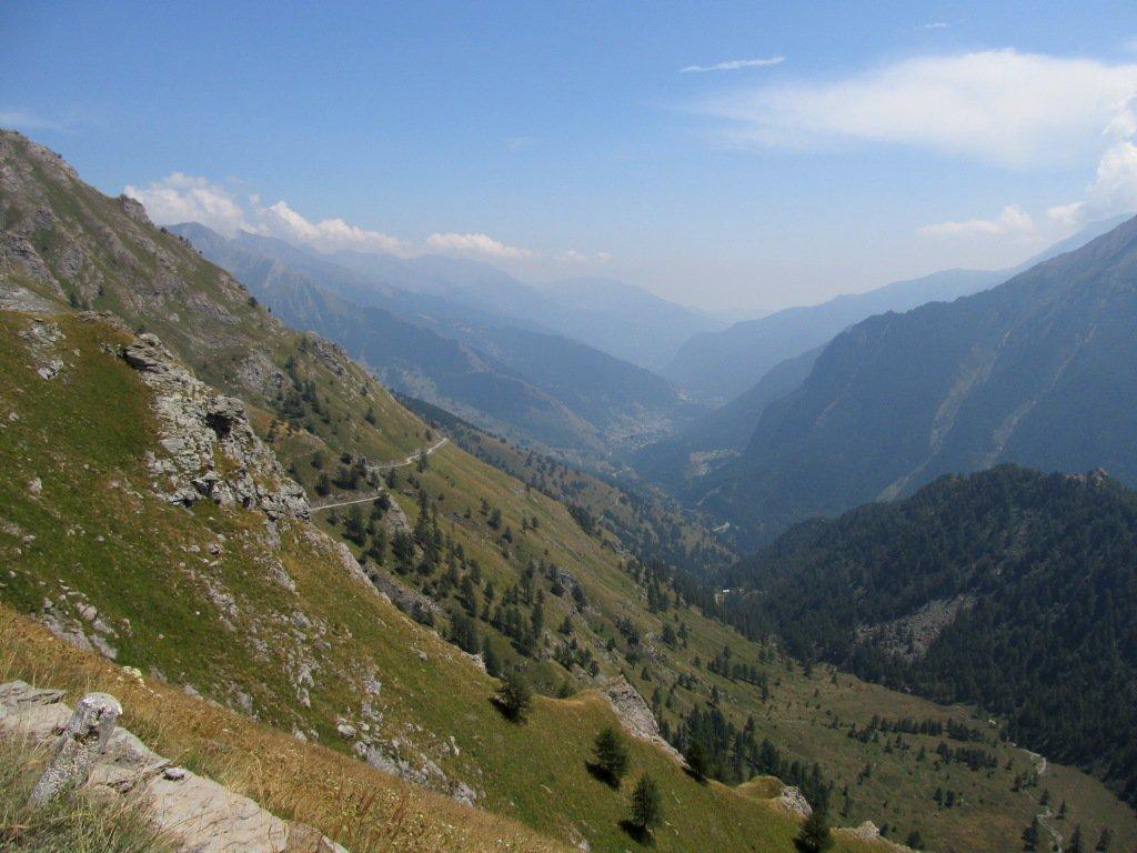 Discesa verso Pian dell'Alpe