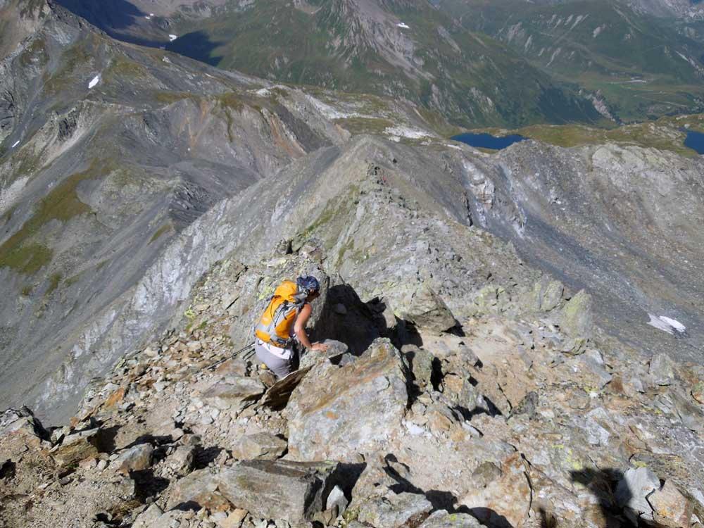 Dronaz (Monte) e Grande Chenalette dal Colle del Gran San Bernardo 2015-08-08