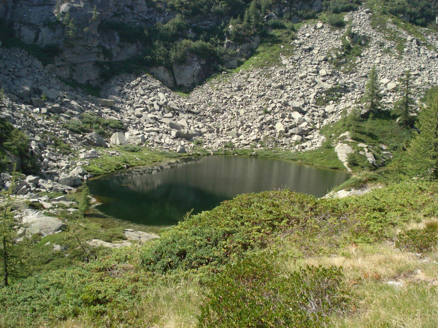 uno dei laghetti di Bellagarda