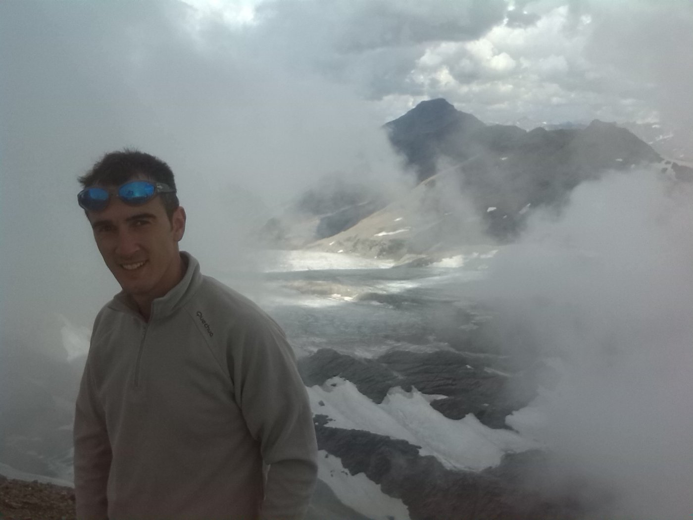 veduta su ghiacciaio