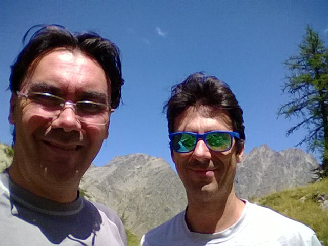selfie con Valmiana e Matto