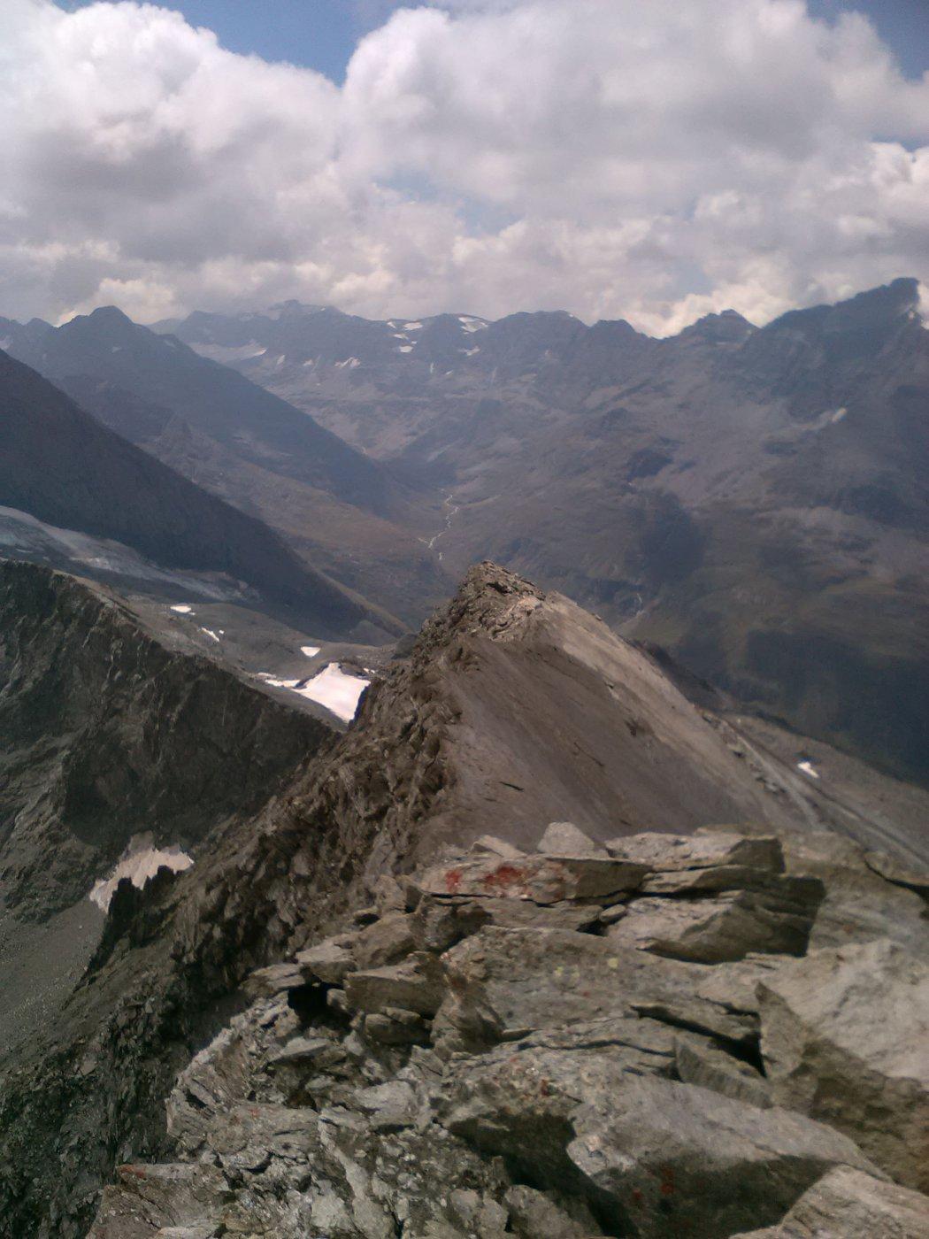 cresta sud dalla cima