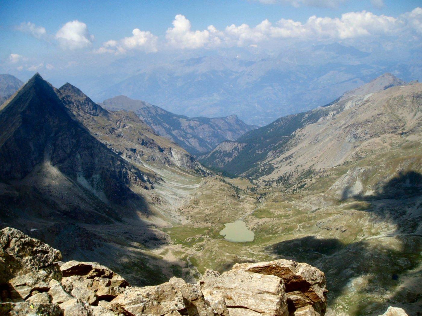 Dal Col Fussy verso la Val Clavalitè
