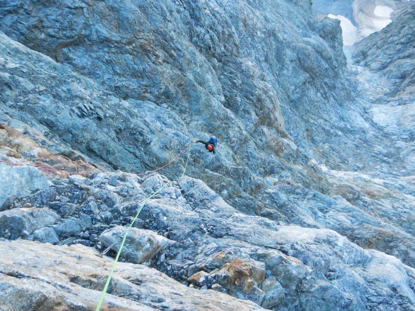 arrampicata parte bassa