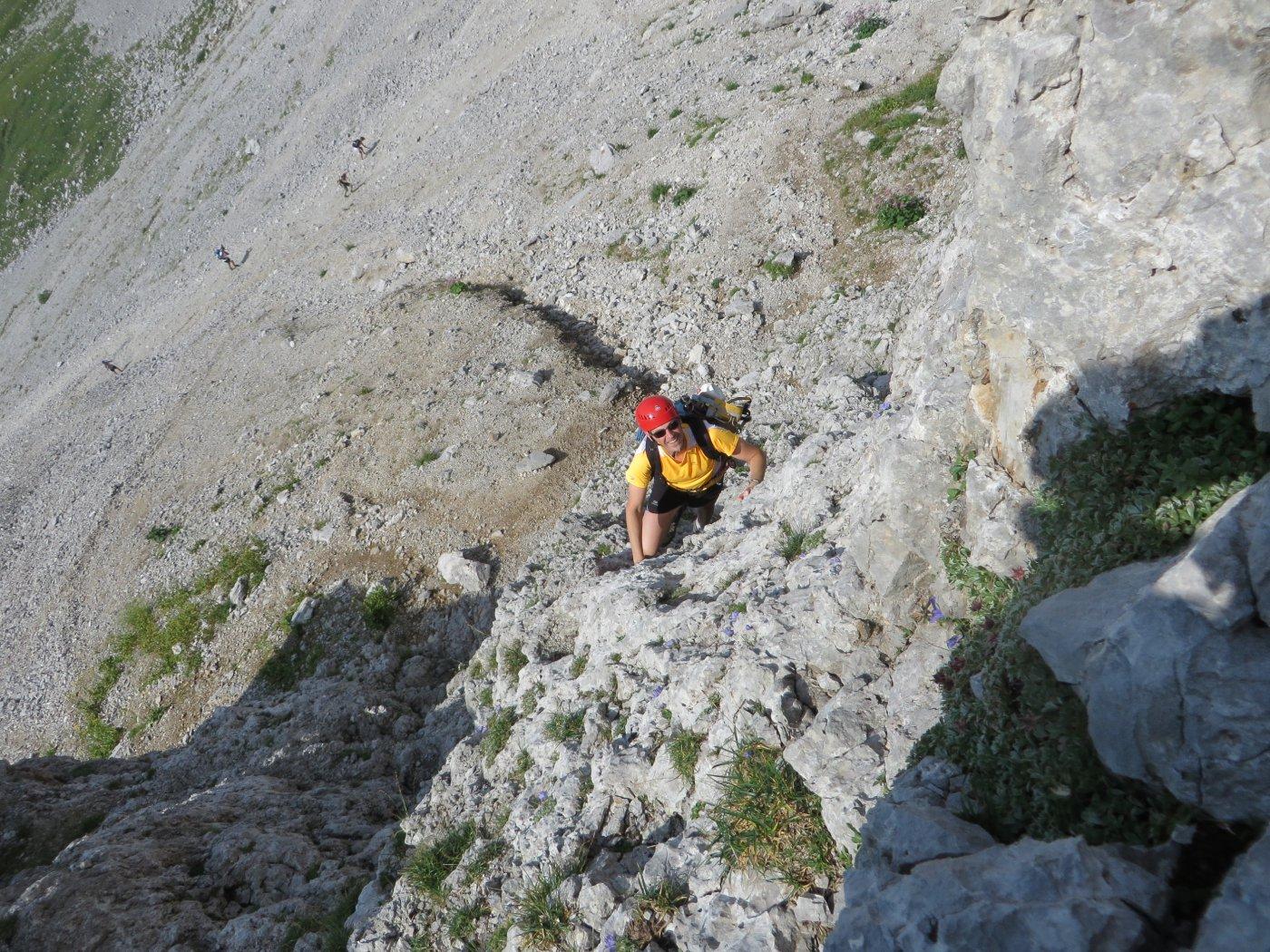 prima tratto di rocce