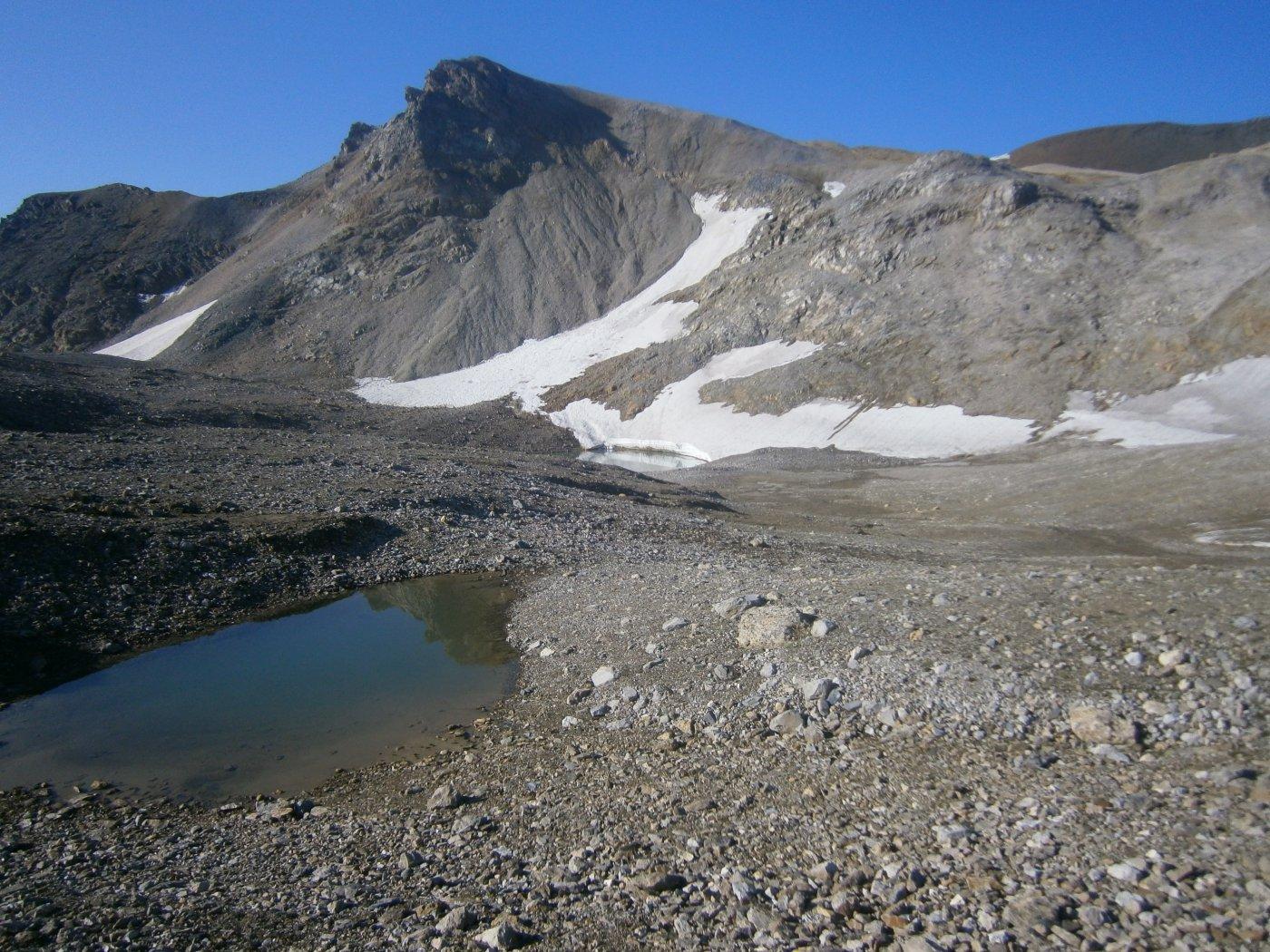 Ambin (Monte) e Punta Sommeiller da Grange della Valle per il Passo Galambra 2015-08-12