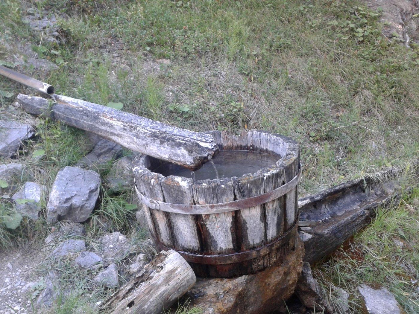 la fonte Marcelin butta