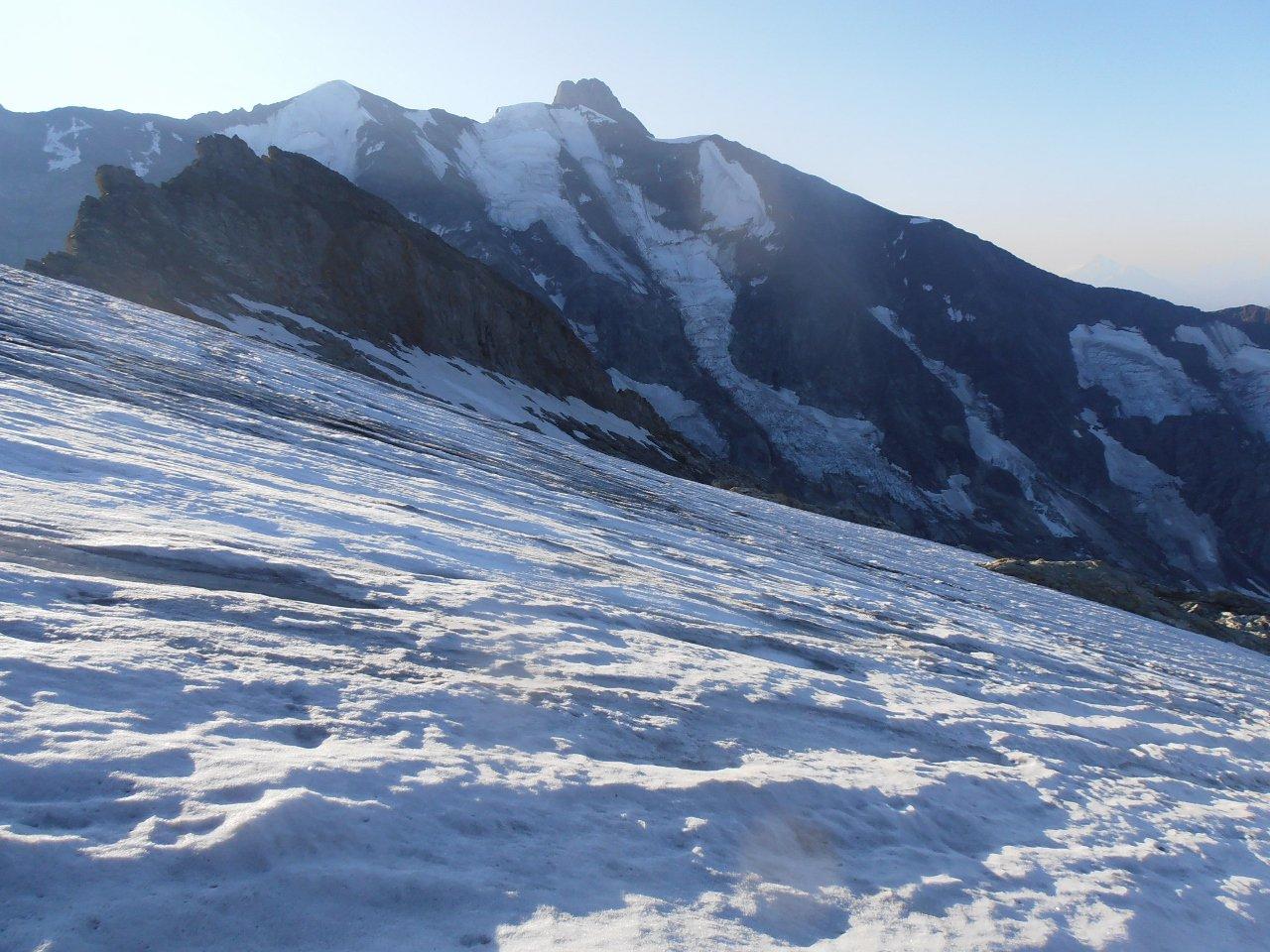 11 - quì si mette piede sul ghiacciaio della Bérangère