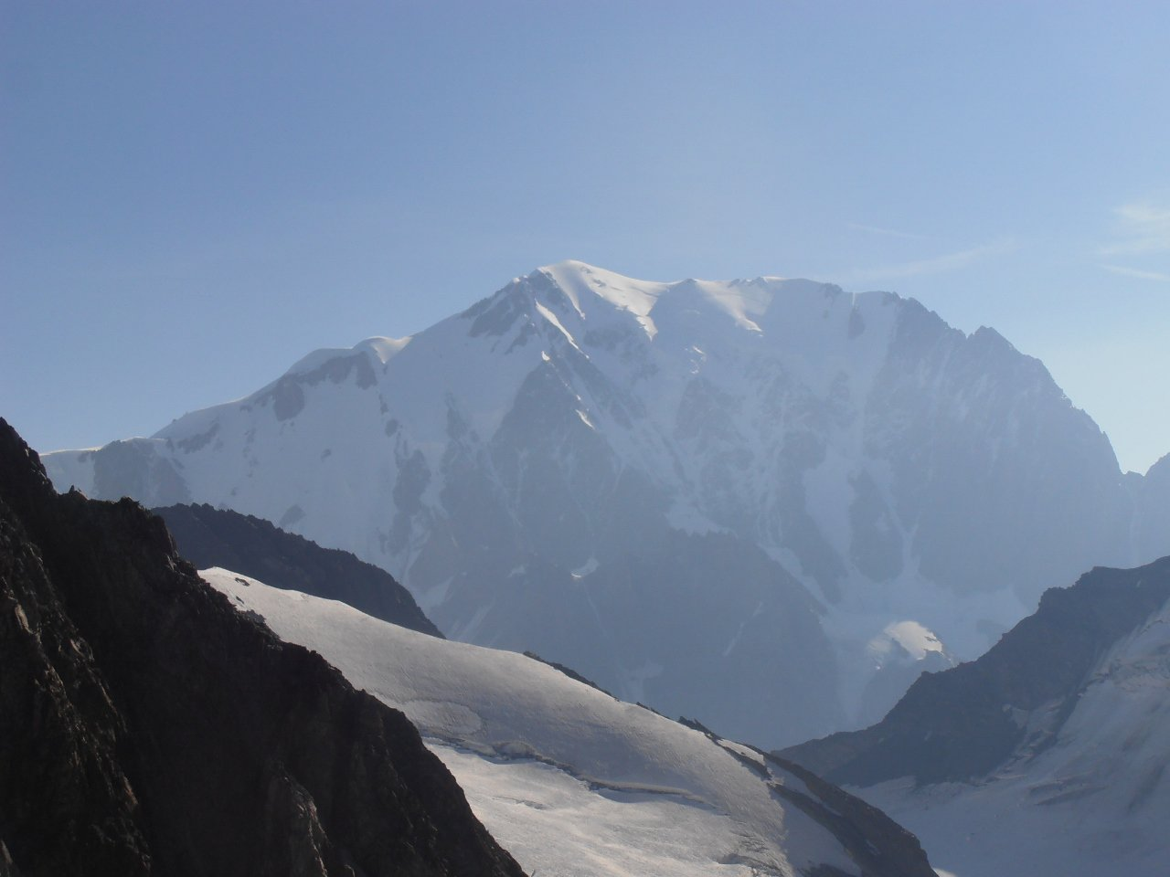 17 - Il Monte Bianco dalla cima