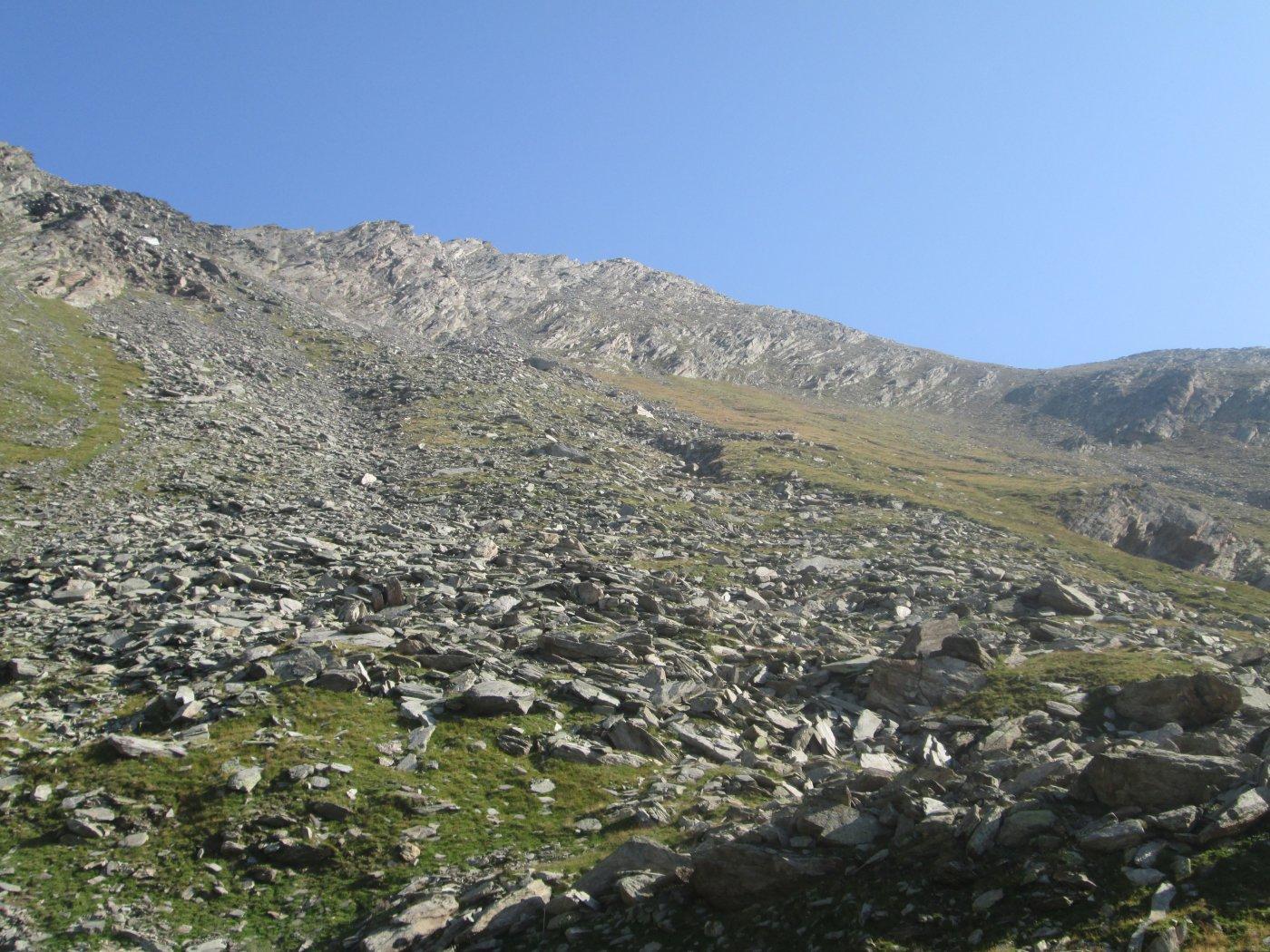 Monte Ferra dal lago Reisassa