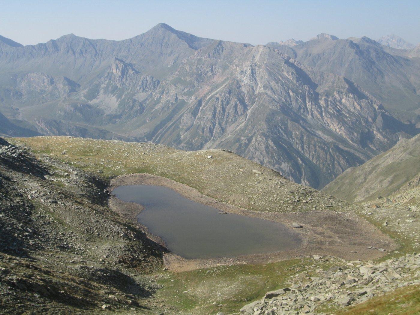 Lago Reisassa a metà agosto