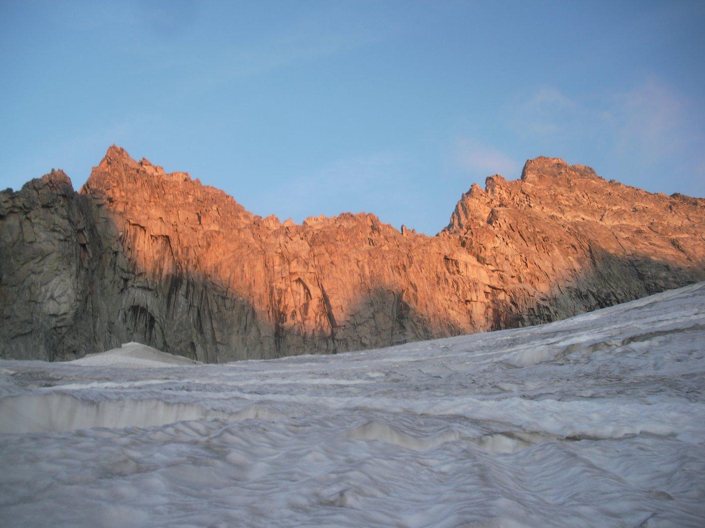 Savoie (Aiguille de) Cresta Preuss 2015-08-12