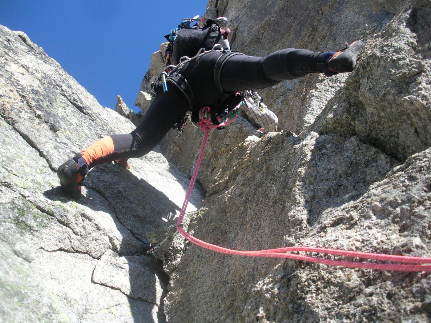 roccia magnifica..per un arrampicata spettacolare..