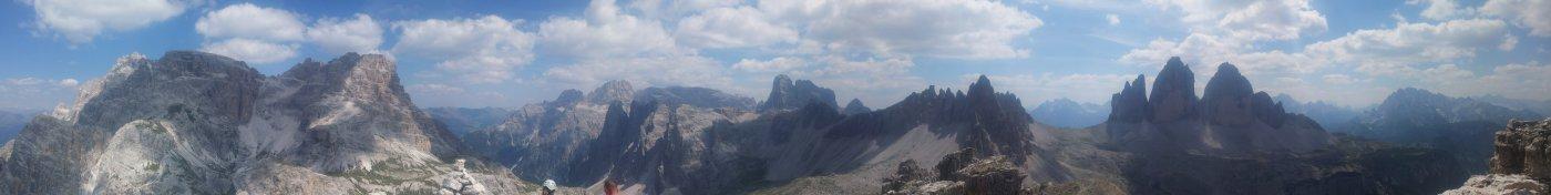 Vista dalla cima della Torre di Toblin