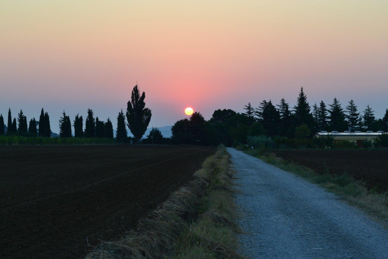 alba da via Mulino Ciotti