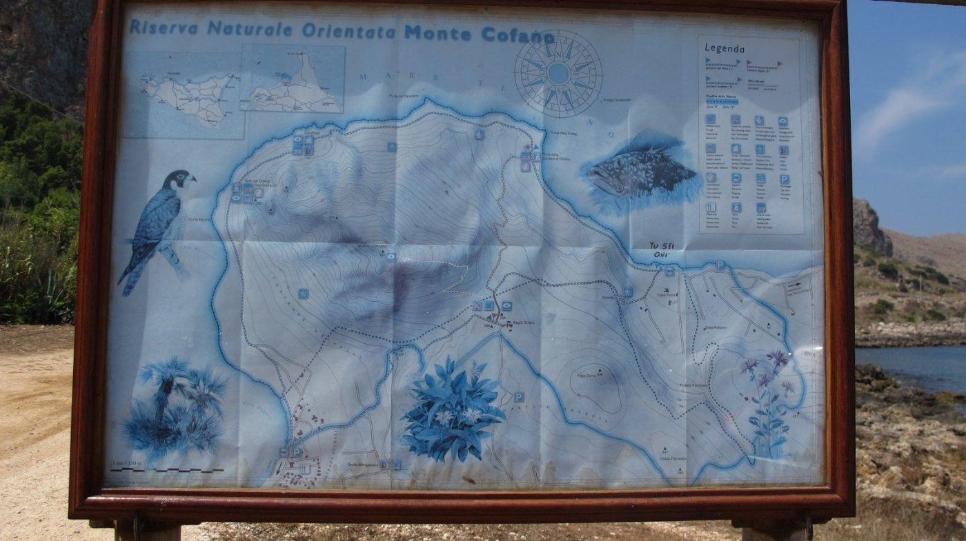 Cartina e percorso