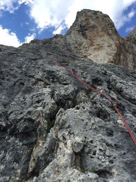 torre piccola di falzarego via delle guide 2015-08-13