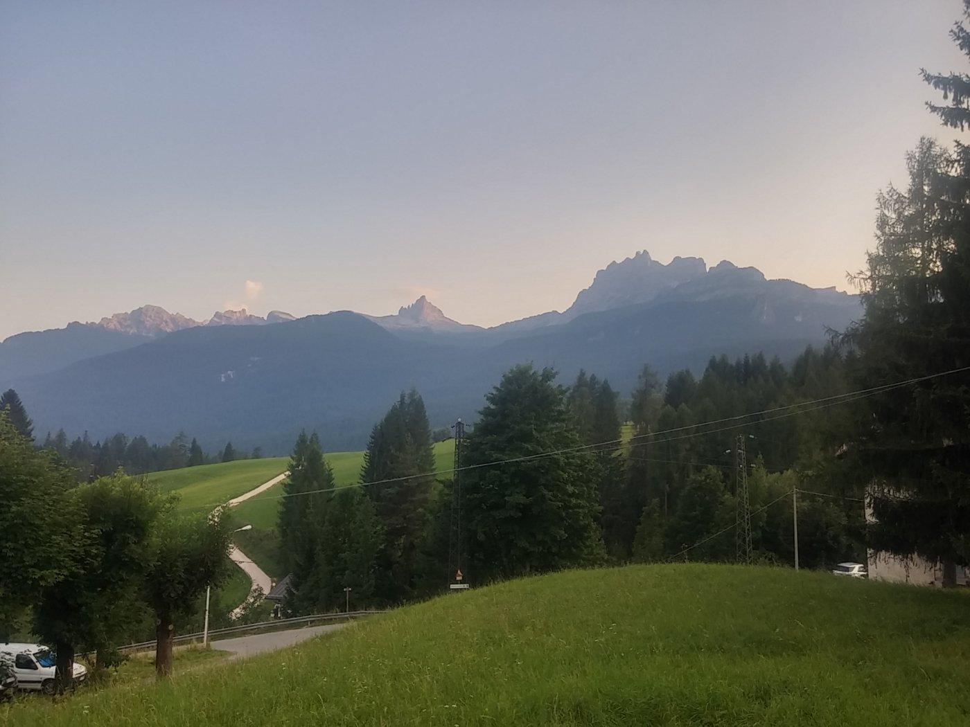 Becco di Mezzodì, forcella Ambrizzola e Croda da Lago da Cortina