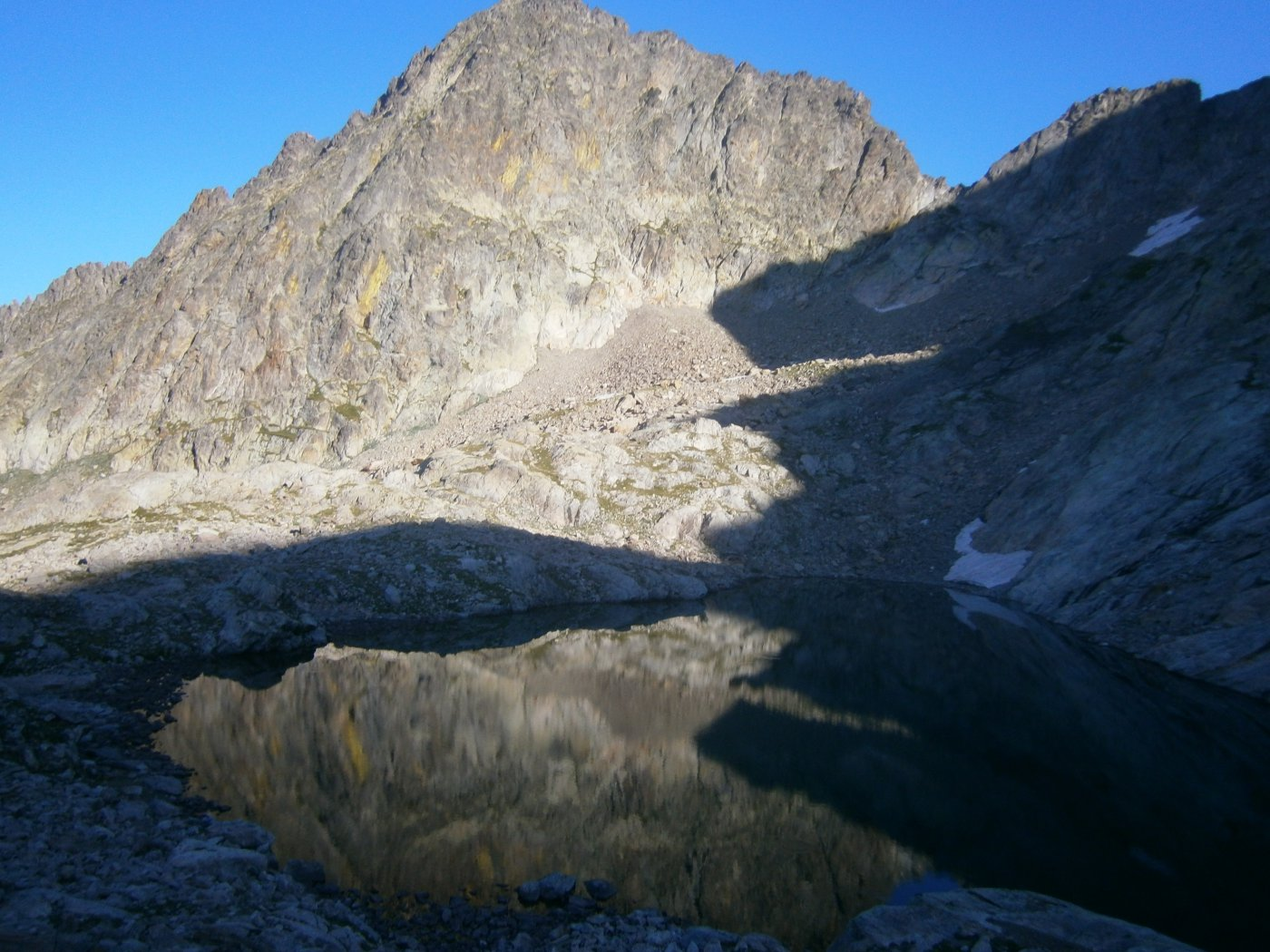 Lac Blanc e cima st. Robert