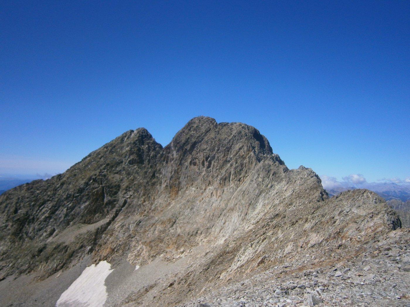Monte Gelas dalla cima del Balcone
