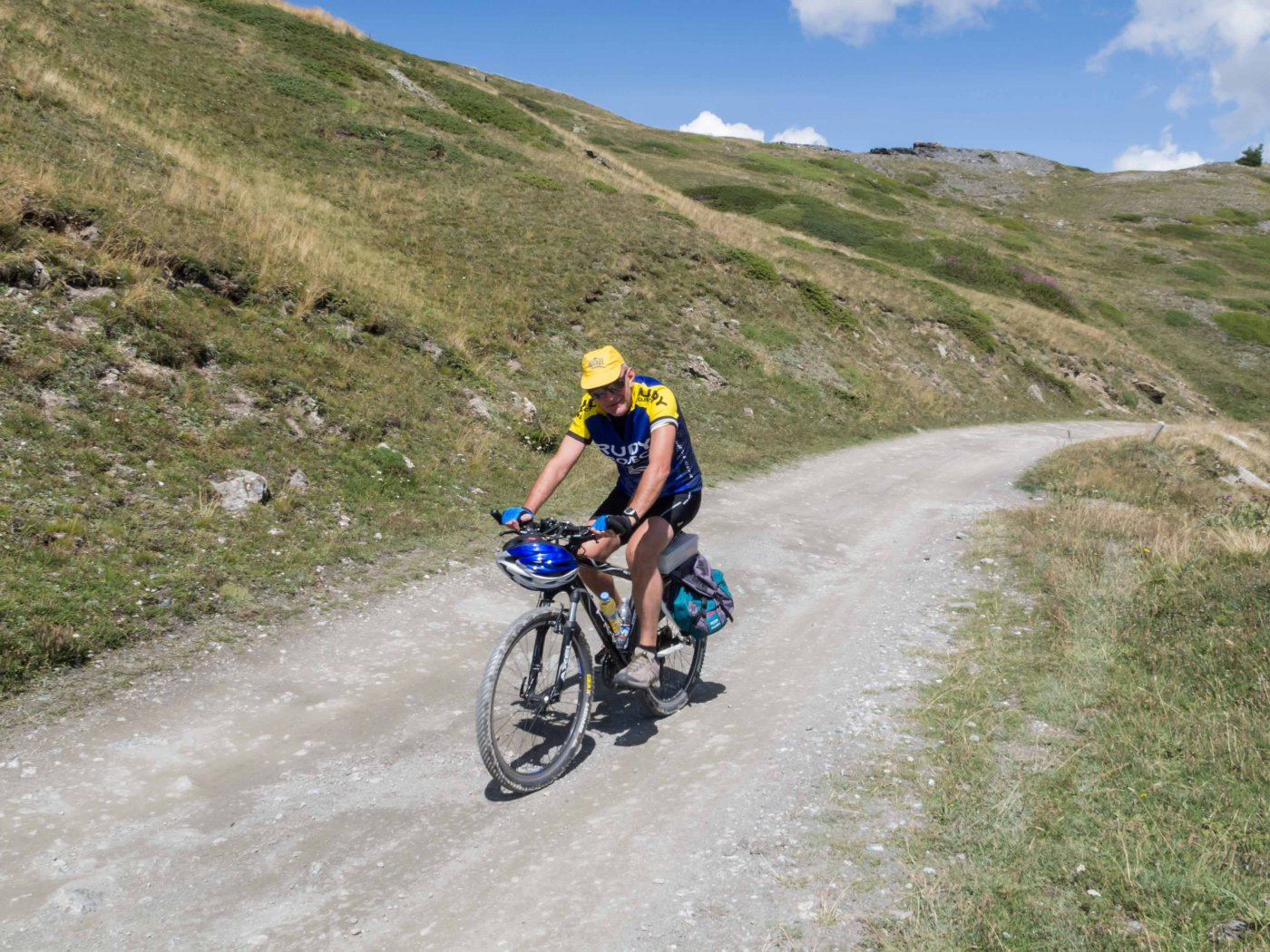 Genevris (Monte) da Sauze d'Oulx, Via dei Saraceni 2015-08-17
